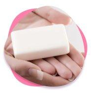 Prueba de embarazo jabón